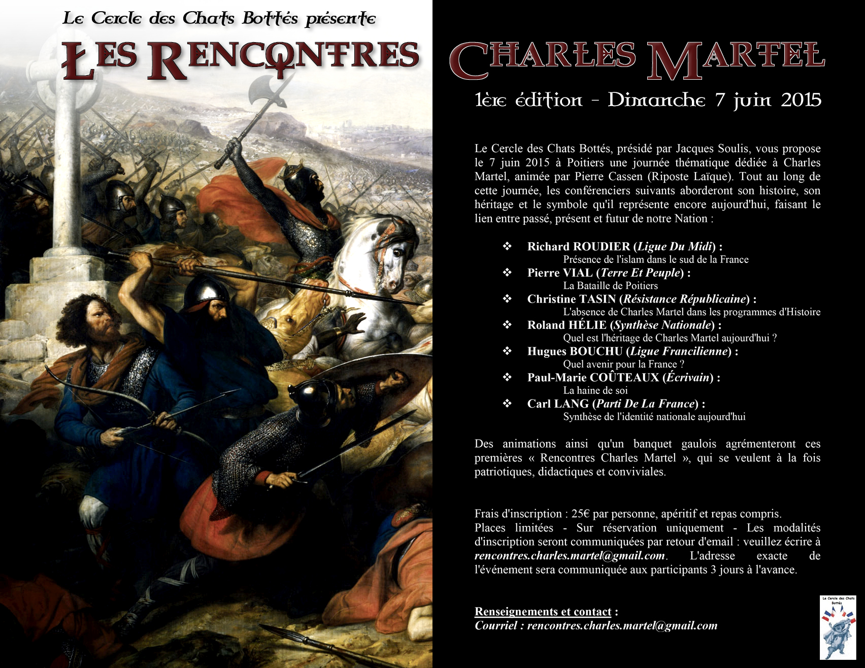 Rencontres Charles Martel pierre vial poitiers