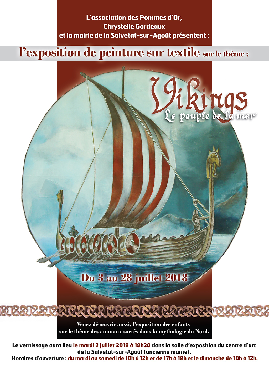 affiche viking exposistion