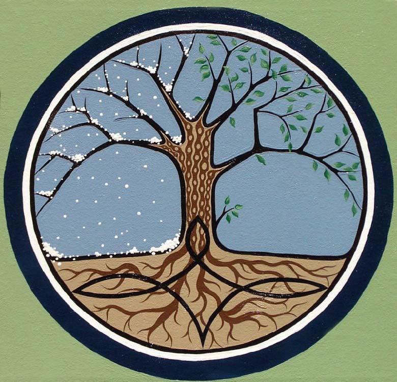 La signification de l arbre dans les traditions europ ennes par pierre vial terre et peuple - Signification arbre de vie ...